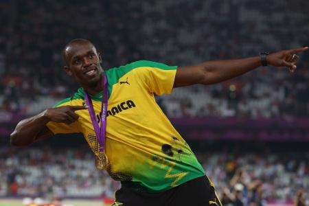 Bolt ouro Londres