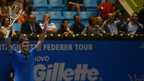 Federer em sao paulo