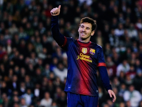 O craque Lionel Messi