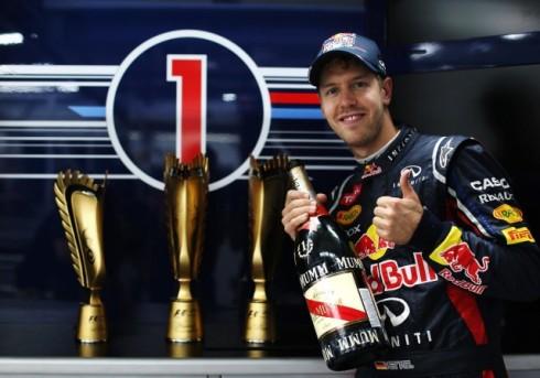 Vettel tricampeao
