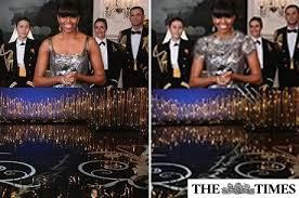 Michelle Obama Oscar 2013