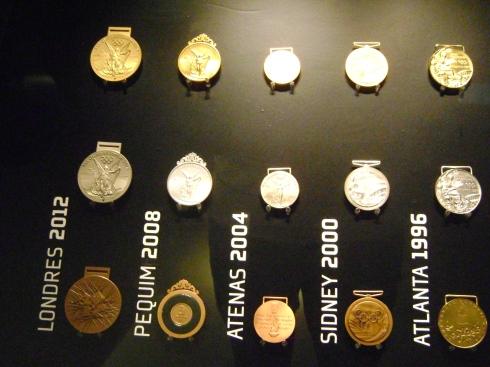 Medalhas olímpicas Foto: Rogério Santana
