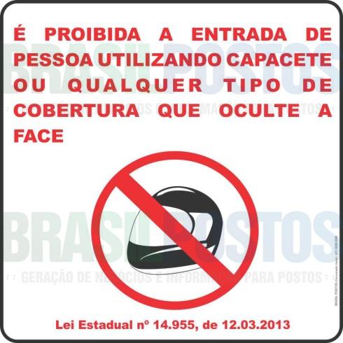 capacete proibido