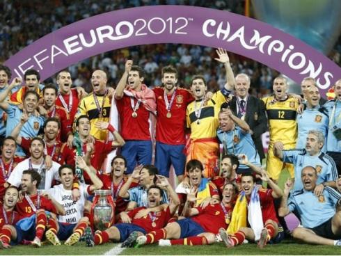 Espanha campea Eurocopa 2012