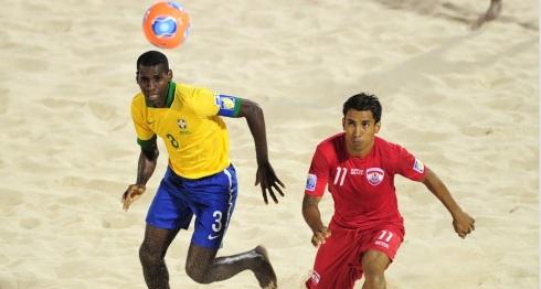 Brasil X Taiti Mundial de Futebol de Areia