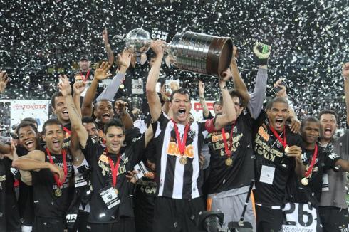 Atlético-MG campeao das Libertadores