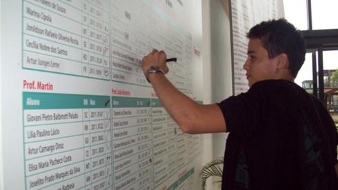 lista escola aluno