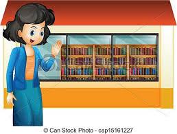 clipart bibliotecario